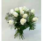 Ram roses blanques Luz