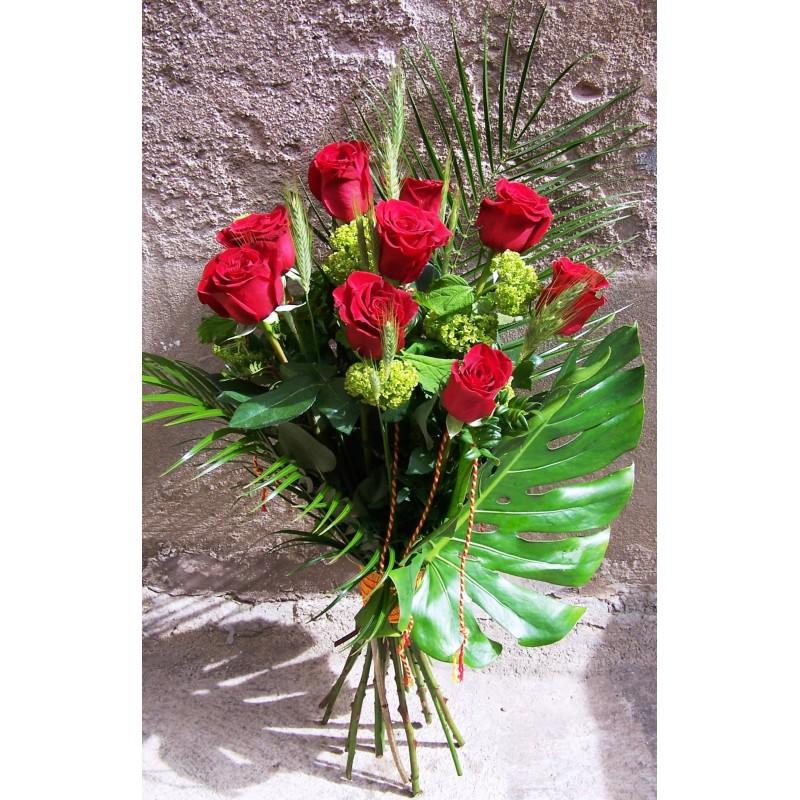Roses de Sant Jordi tija extra en ram