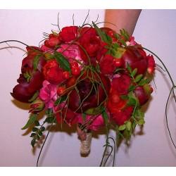 Ramo de Novia con Peonías y Rosas