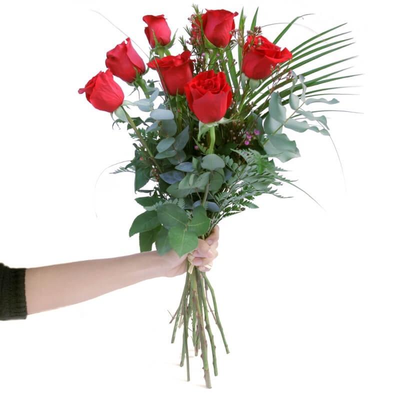 Ram de 9 Roses Vermelles