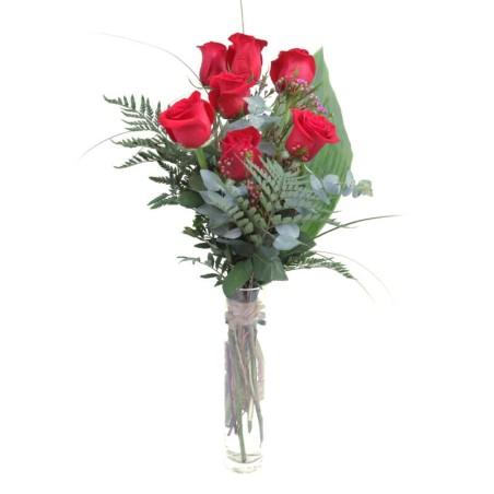 9 Rosas Rojas Extra Presente