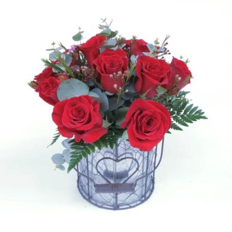 Bouquet de Rosas San Valentín