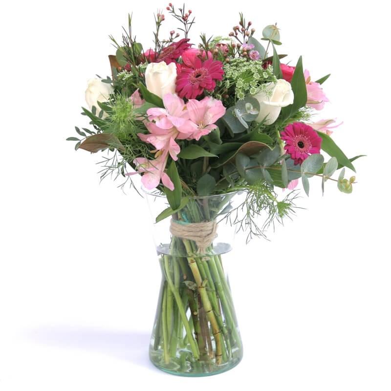 """Flores en jarrón """"Princesa por un Día"""""""