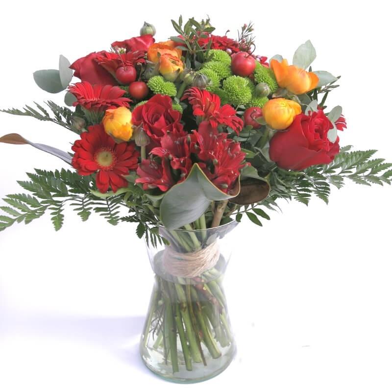 """Flores en jarrón """"Dulce tentación"""""""
