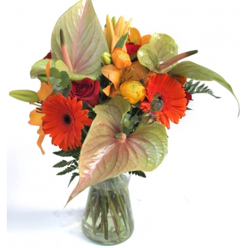 """Flores en jarrón """"Jardín del Edén"""""""