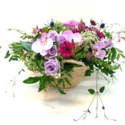 Capazo de flores Sensibilidad