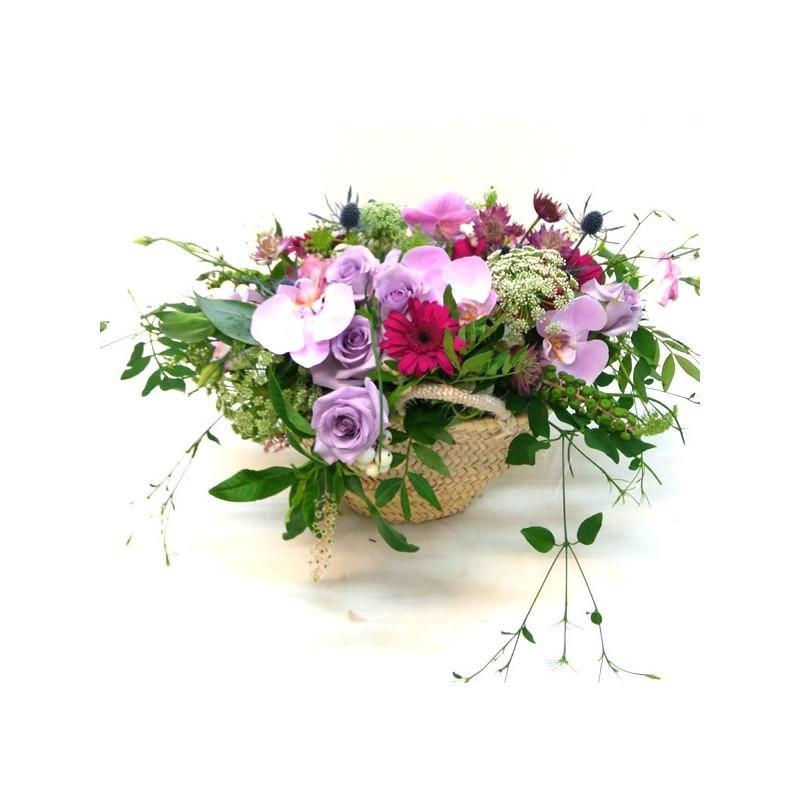 Capazo de flors