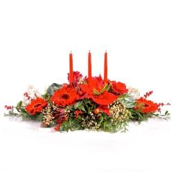 Centre de flors de nadal Duende