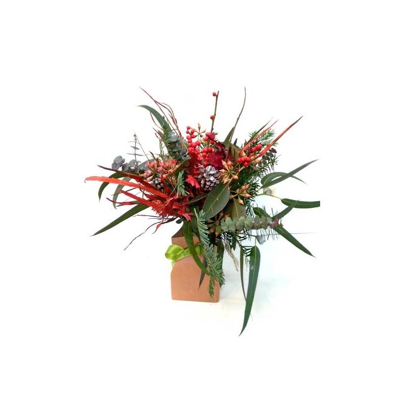 Ramo de flores de Navidad