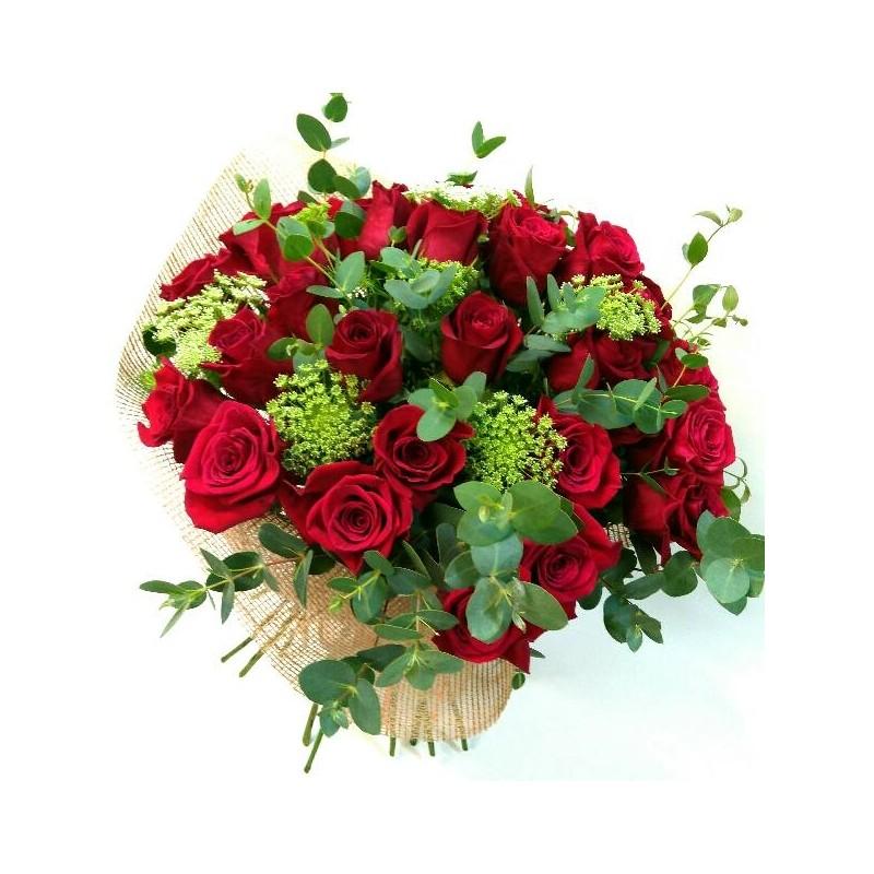 Ram de roses vermelles Risueño
