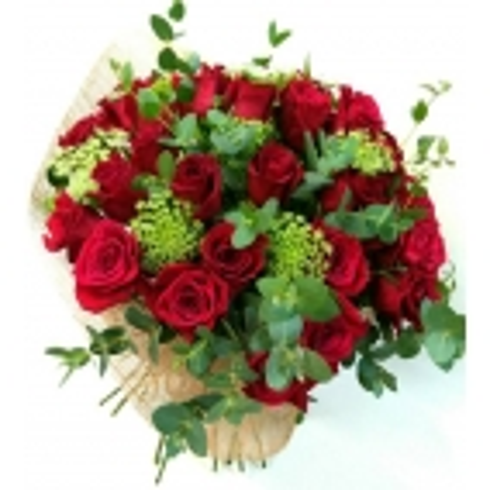 Ramo de rosas rojas Risueño
