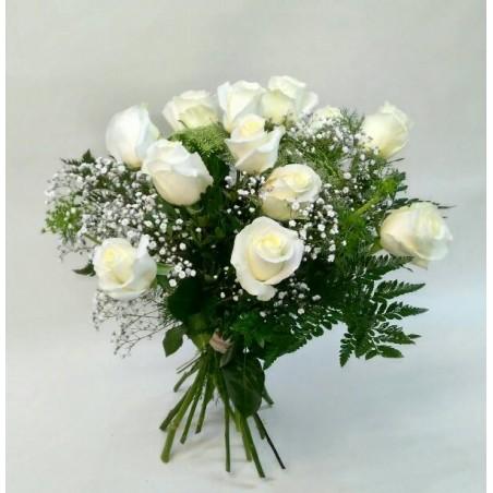 "Ramo de rosas blancas ""Luz"""