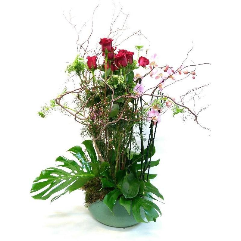 Centre de flors sensualitat