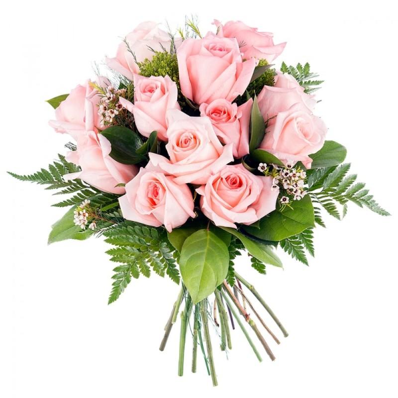 Ramo de rosas rosa Caramelo