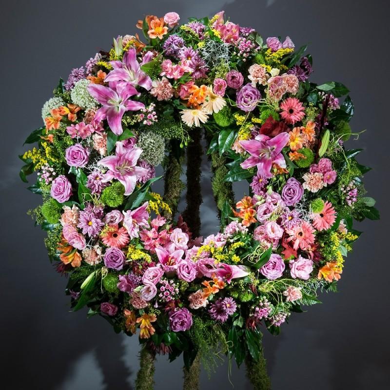 Corona de flors