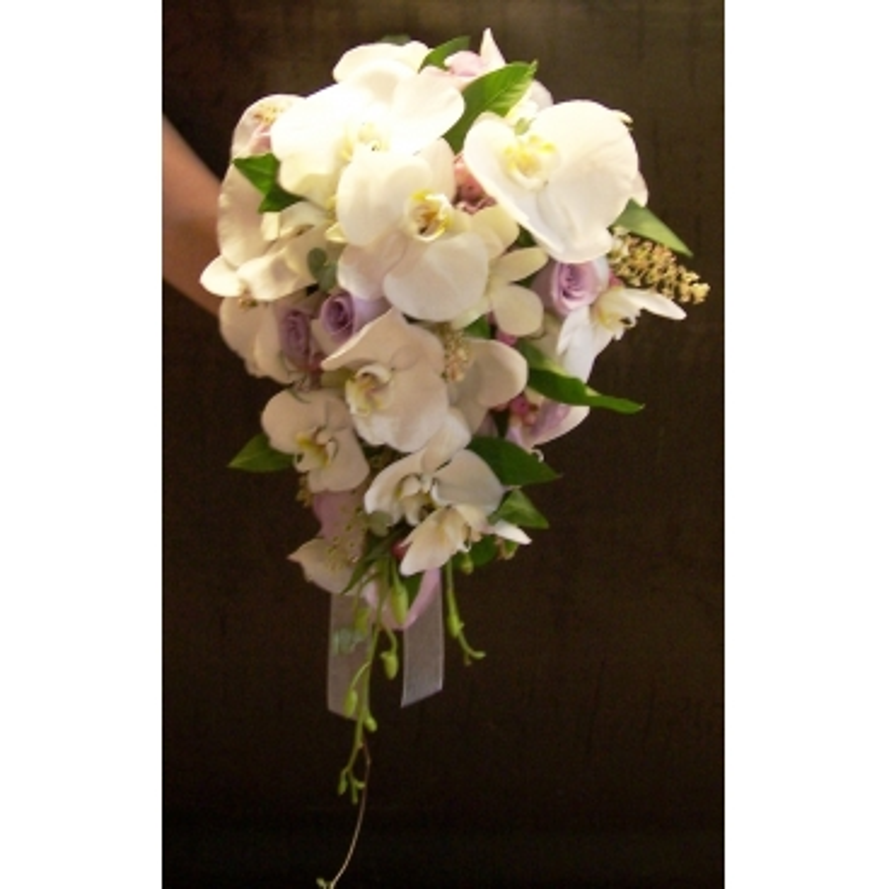 Ram de núvia de orquídies